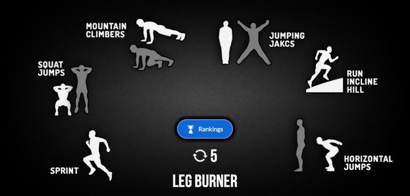 Mountain climber übung