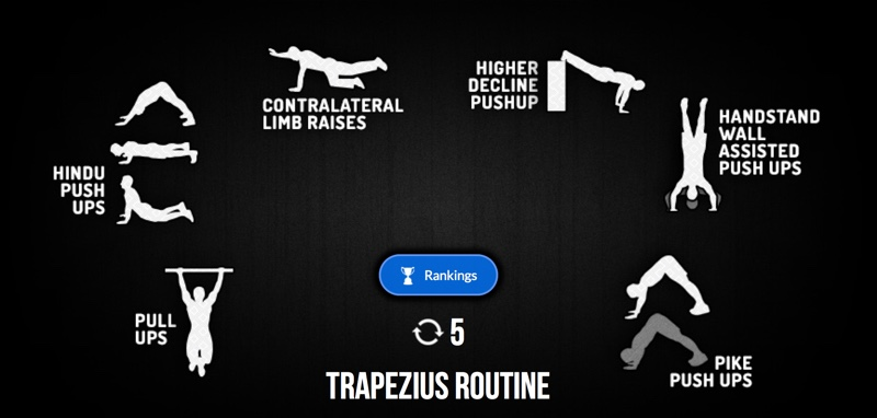Madbarz Workout Trapezius Routine