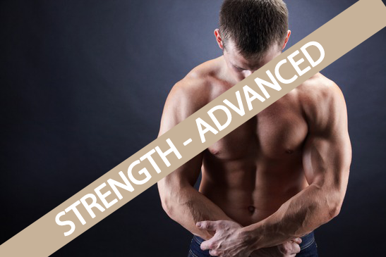 Strength Trainingsplan advanced