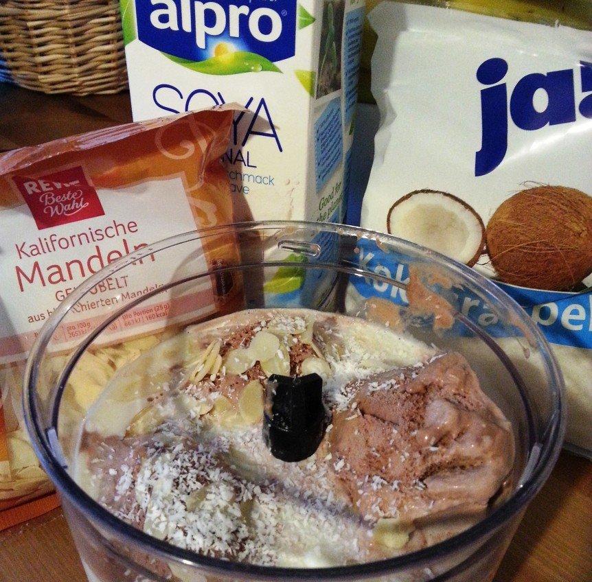 Protein Shake Mandel Schoko