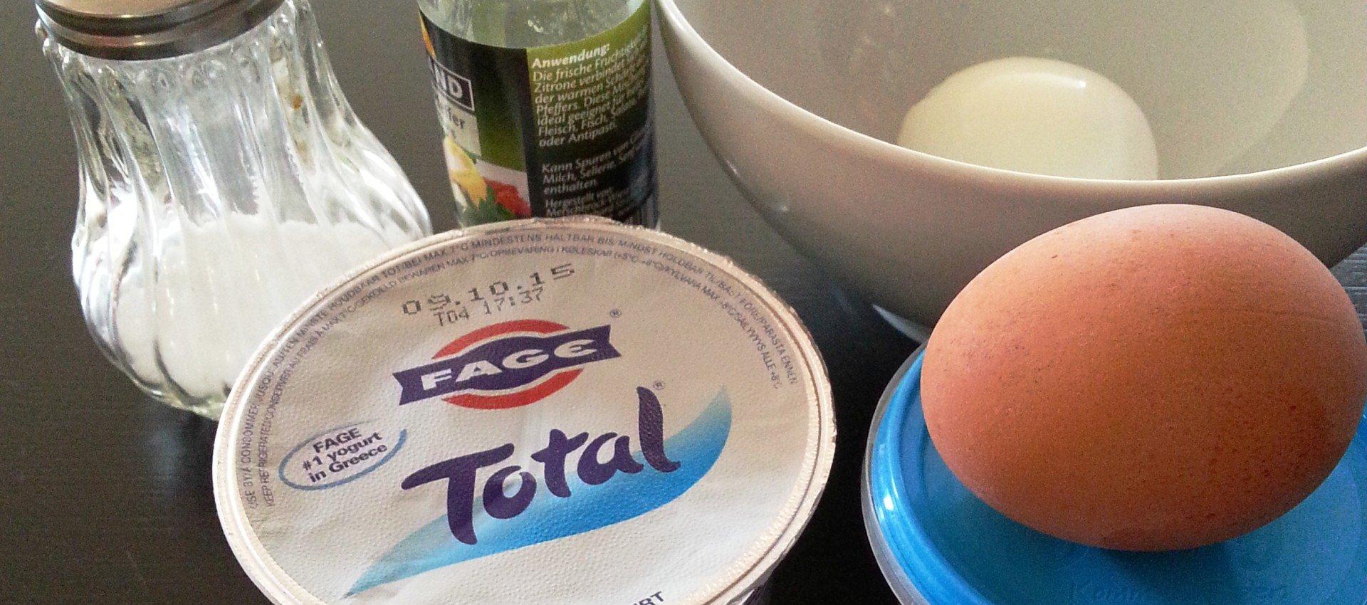 Brotaufstrich mit Ei