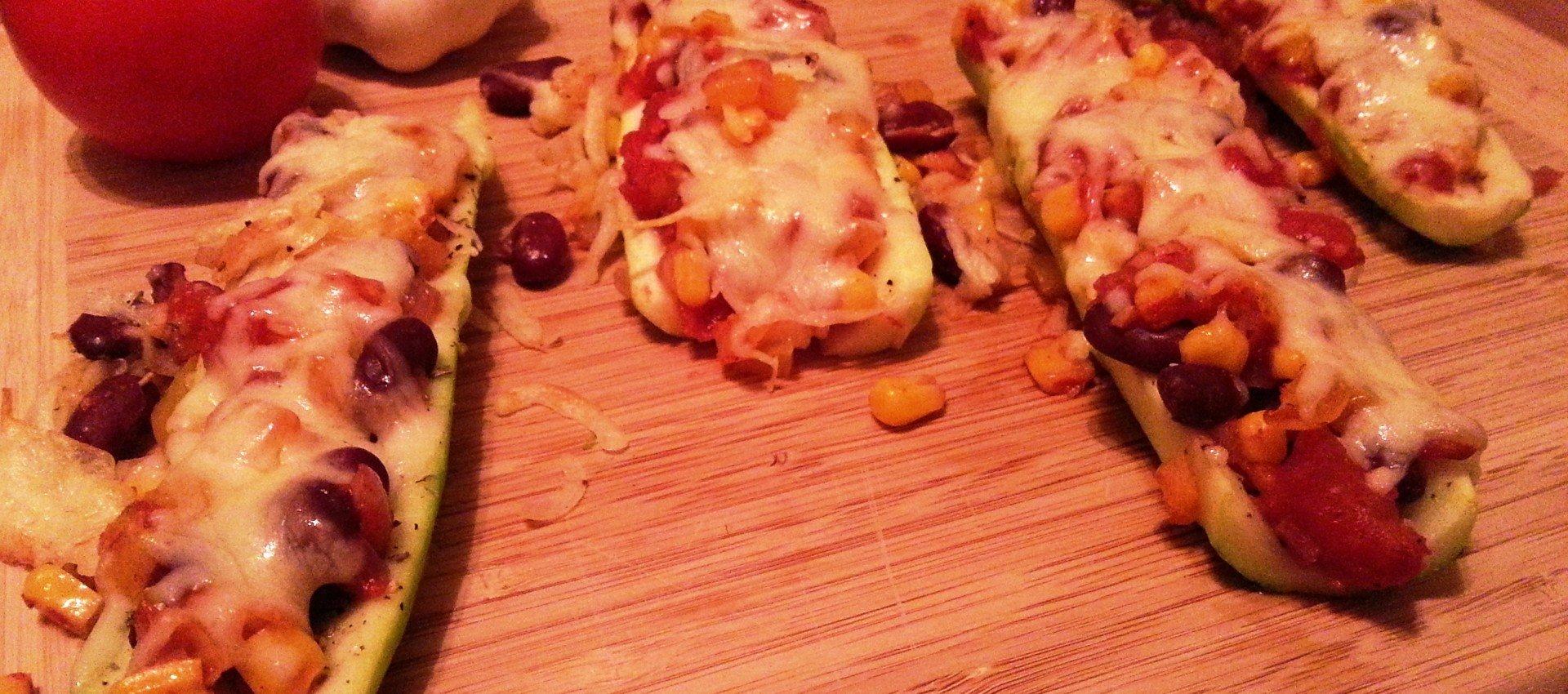 Pikante Zucchini Baguettes