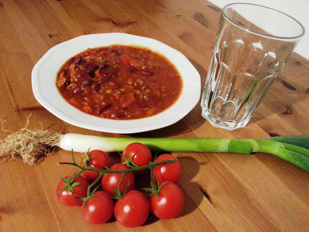 fitness rezept chili con carne ausgewogen. Black Bedroom Furniture Sets. Home Design Ideas