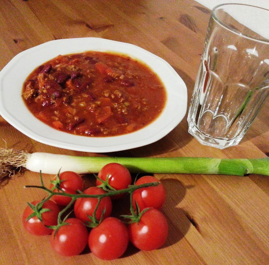 Gesunde Ernährung Chili con Carne