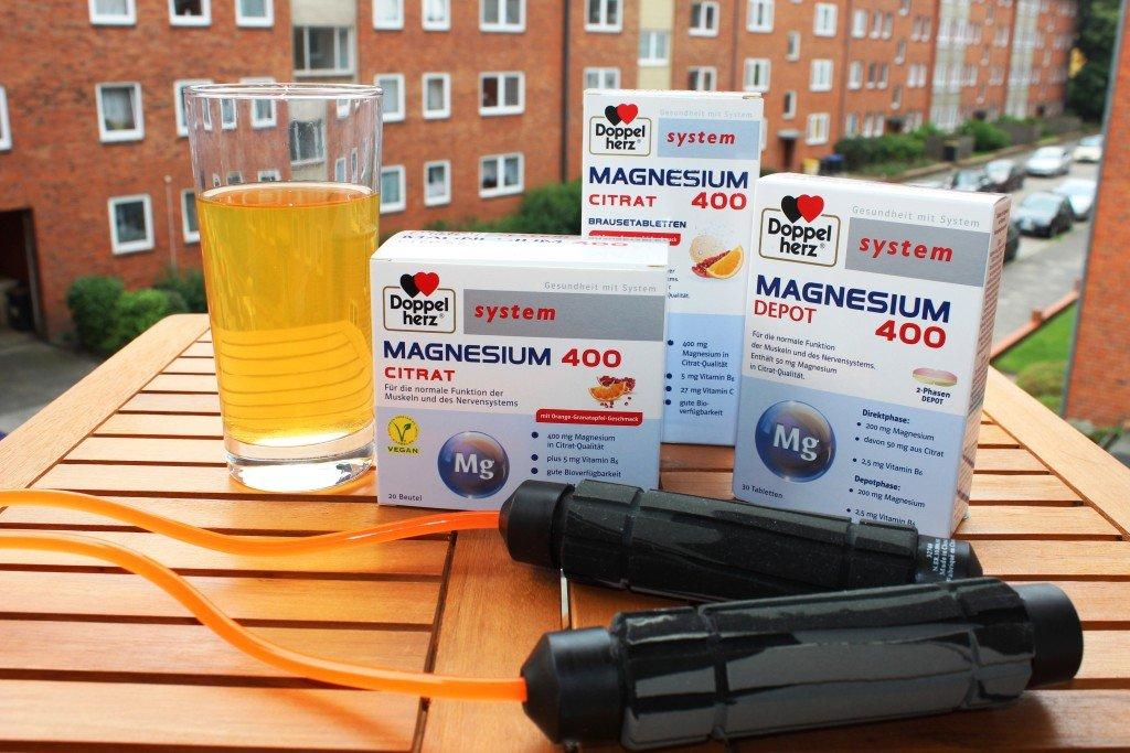 Produkttest Doppelherz Magnesium Citrat