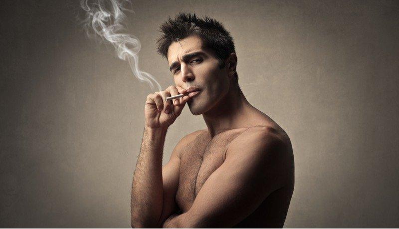 Rauchen und Muskelaufbau