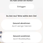 YAZIP App Anmeldung