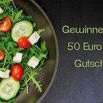 Sende uns dein Rezept – 50 Euro Gutschein zu gewinnen