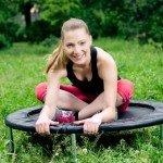 Spring dich fit!  Trendsportart Jumping Fitness