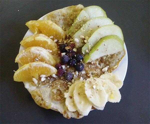 Bananen-Ei-Pancakes