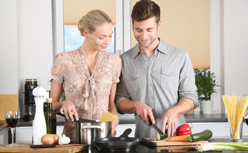 Garmethoden beim kochen