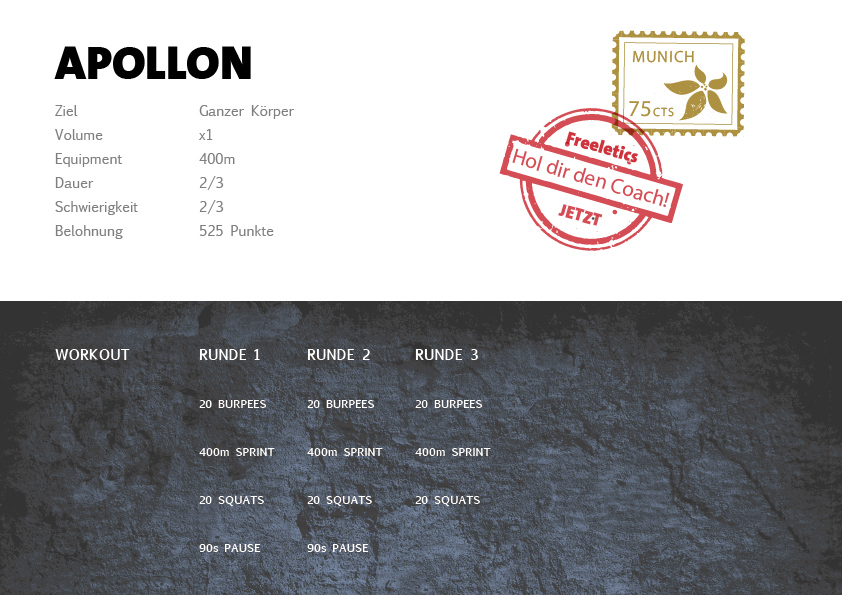 Freeletics Apollon Workout