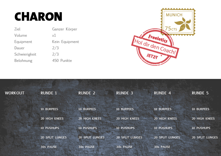 Freeletics Charon Workout