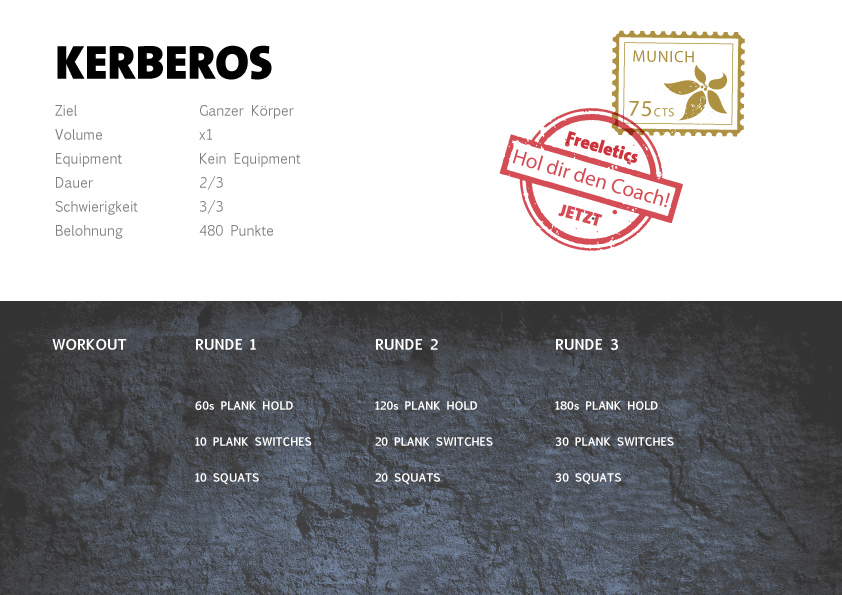 Freeletics Kerberos Workout