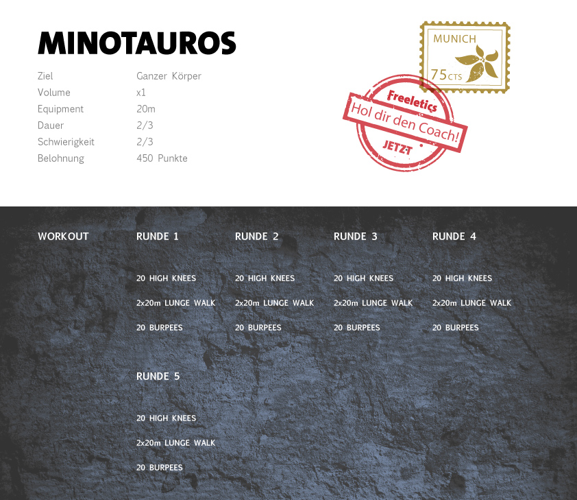 Freeletics Minotauros Workout