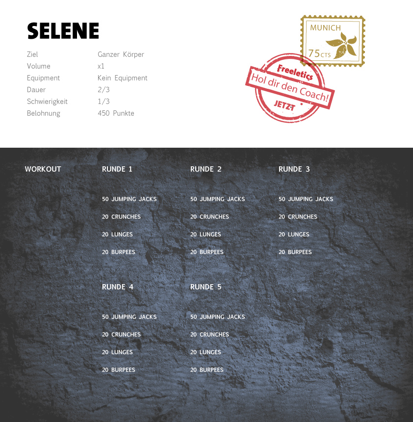 Freeletics Selena Workout