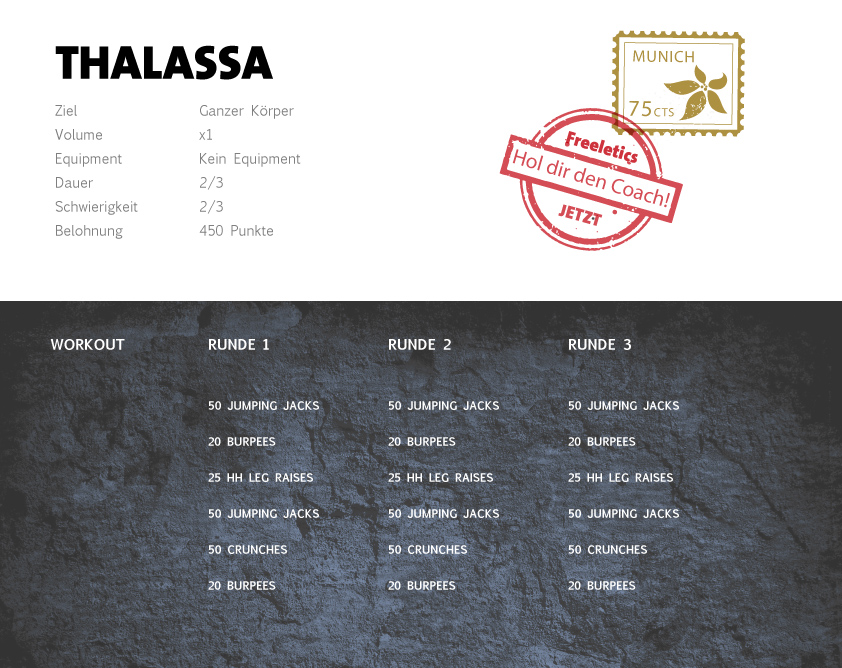 Freeletics Thalassa Workout