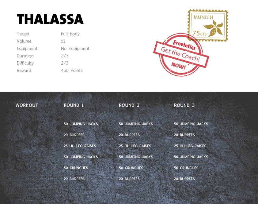 Freeletics Thalassa Workout English
