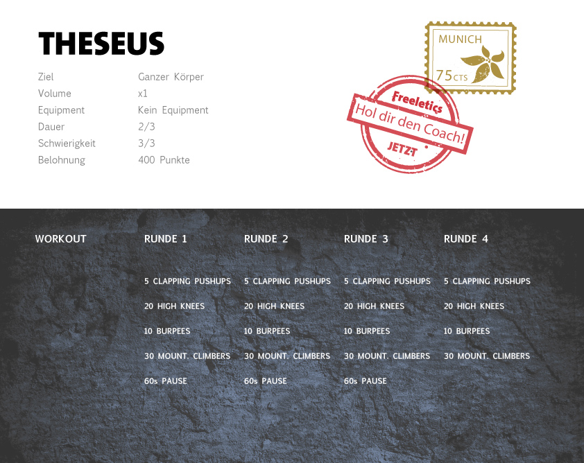 Freeletics Theseus Workout