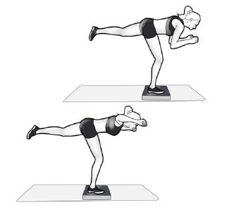 Übung 2 Balance Pad