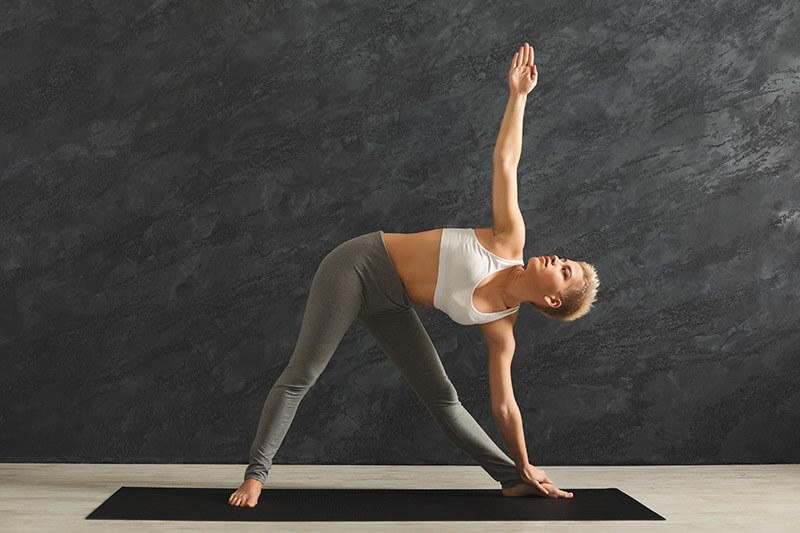 Yoga das Dreieck