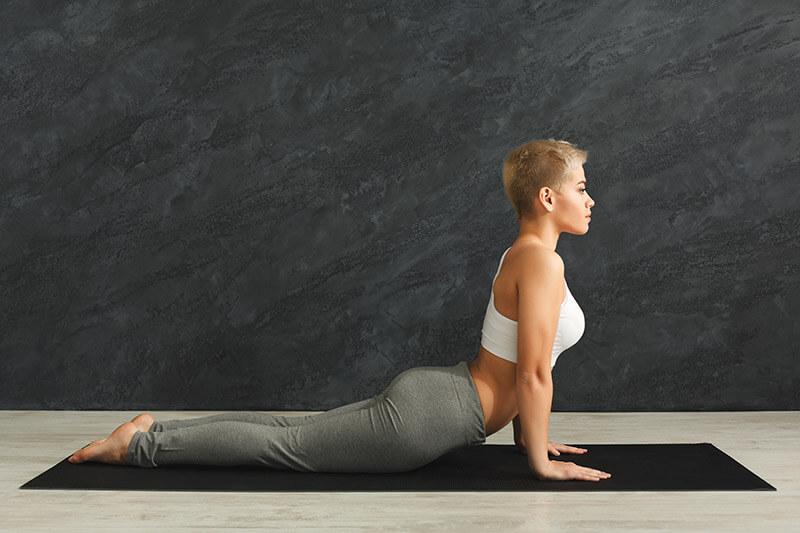 Yoga die Kobra