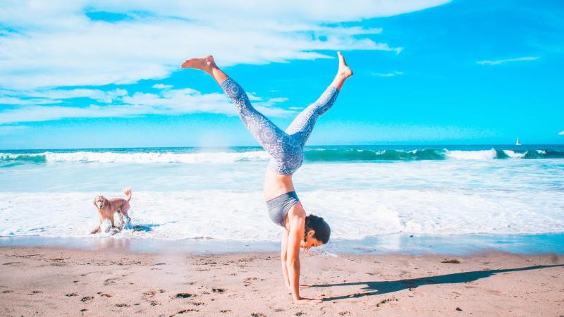 Abnehmen mit Yoga