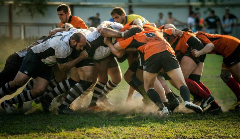 Gruppentraining Mannschaftssport