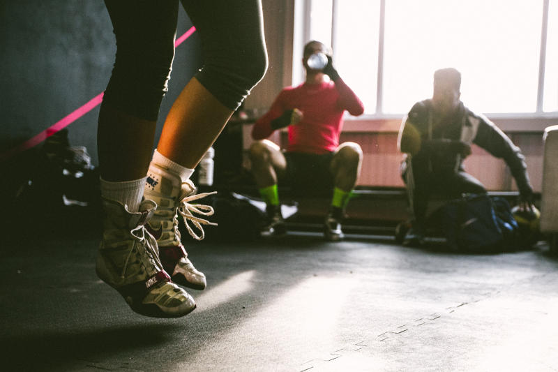 Fitness-Boxen Übungen